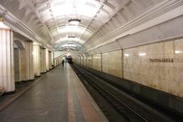 Станция Театральная, боковой неф