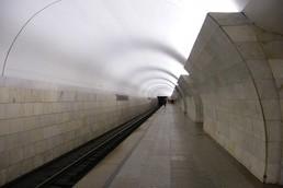 Станция Тверская, боковой неф