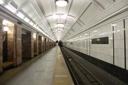 Станция Белорусская, боковой неф