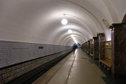 Станция Динамо, боковой неф