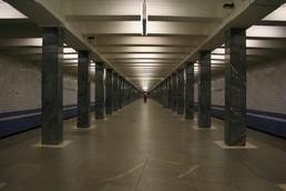 Станция Водный стадион, общий вид