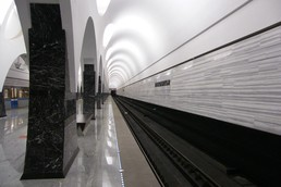 Станция Волоколамская, боковой неф