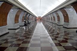 Станция Парк Победы, северный зал