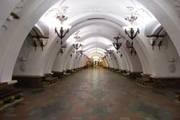 Станция Арбатская, центральный неф