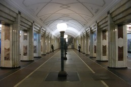Станция Семёновская, центральный неф