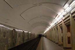 Станция Семёновская, боковой неф