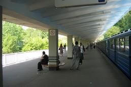 Станция Измайловская, общий вид