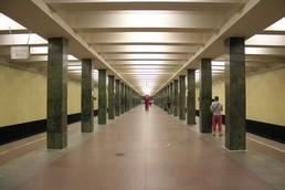 Станция Щёлковская, общий вид