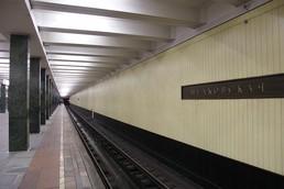 Станция Щёлковская, платформа