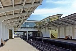 Станция Студенческая, платформа