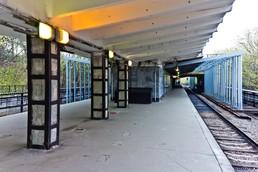 Станция Филёвский парк, платформа