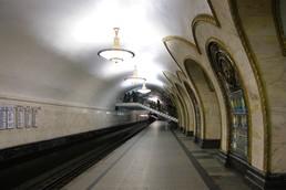 Станция Новослободская, боковой неф