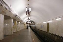 Станция Курская, боковой неф