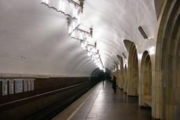 Станция Добрынинская, боковой неф