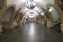 Станция Киевская, центральный неф