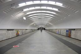 Станция Бабушкинская, общий вид