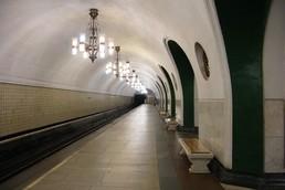 Станция ВДНХ, боковой неф