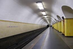 Станция Рижская, боковой неф