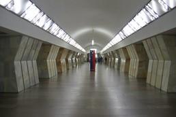 Станция Сухаревская, центральный неф