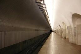 Станция Шаболовская, боковой неф
