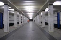 Станция Академическая, общий вид