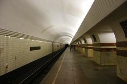 Станция Таганская, боковой неф