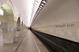 Станция Кузнецкий мост, боковой неф