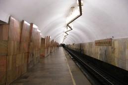 Станция Баррикадная, боковой неф