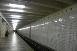 Станция Полежаевская, платформа