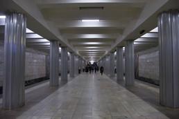 Станция Октябрьское поле, общий вид