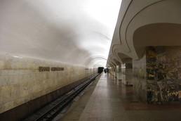 Станция Шоссе Энтузиастов, боковой неф