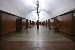Станция Площадь Ильича, центральный неф