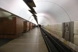 Станция Площадь Ильича, боковой неф