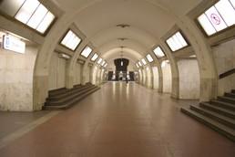 Станция Третьяковская, северный зал