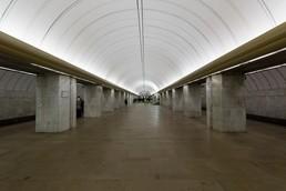Станция Петровско-Разумовская, западный зал