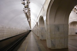 Станция Менделеевская, боковой неф