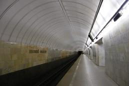Станция Цветной бульвар, боковой неф
