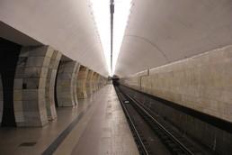 Станция Серпуховская, боковой неф