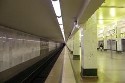 Станция Бульвар Дмитрия Донского, платформа