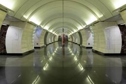 Станция Верхние Лихоборы, центральный неф