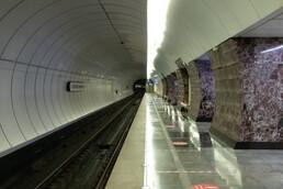Станция Верхние Лихоборы, боковой неф