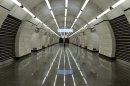 Станция Окружная, центральный неф
