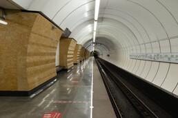 Станция Окружная, боковой неф