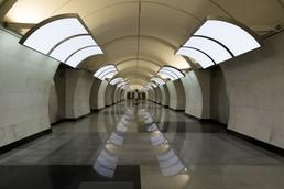 Станция Бутырская, центральный неф
