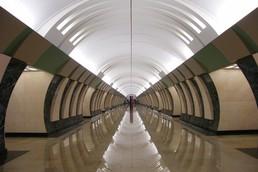 Станция Марьина Роща, центральный неф