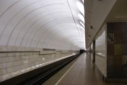 Станция Крестьянская застава, боковой неф