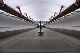 Станция Кожуховская, общий вид