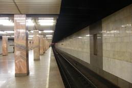 Станция Печатники, платформа