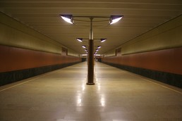 Станция Волжская, общий вид