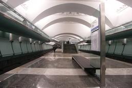 Станция Зябликово, платформа